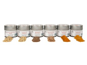 Gustus Vitae Seasoning and Salt Collection
