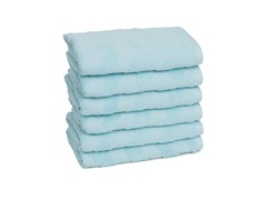 Chevron Hand Towels S/6-Eggshell