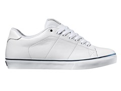 DVS Men's Gavin CT, White Leather (8-10)