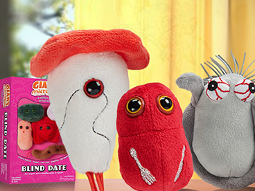 Giant Microbes Giftable Germs & More!
