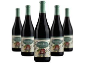 5Pk. Mendocino County Pinot Noir Wine