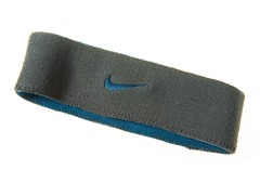 Premier Headband - Gray/Blue