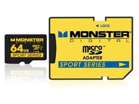 Monster Sport 64GB Class 10 microSD Card