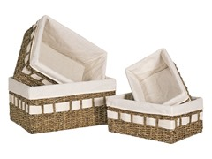 Spa 4-Piece Storage Basket Set