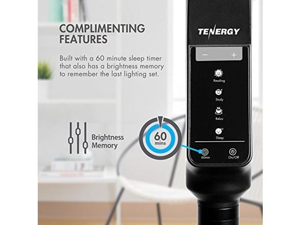 Tenergy 2-In-1 Floor/Desk Task Lamp