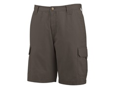 "Burke 10"" Cotton Twill Shorts, Bison"