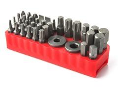 36-Piece Ratcheting Wrench Bit Set