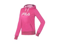 Fila Women's Fleece Hoody, Pink/Lilac