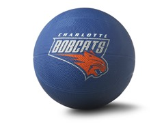 Charlotte Bobcats Primary Size 3 Ball