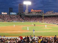 Fenway Park Green Monster, Red Sox