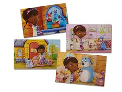 Doc McStuffins Set of 4 Wood Puzzles