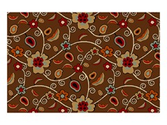 Kings Court Partridge Floral Brown (4 Sizes)
