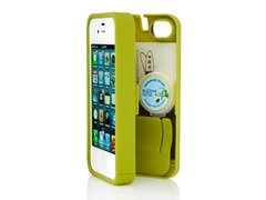 iPhone 4/4S Case Hinged Back-Chartreuse