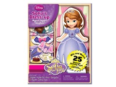 Disney Sofia 25 Piece Wood Magnetic Play Doll