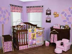 Lola Fox & Friends Crib Bedding Set