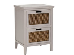 Jonah End Table - Grey