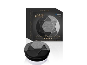 Maze Waterproof BT Shower Speakers w/FM