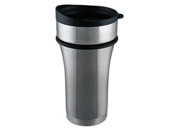 Stainless Steel 12oz Tumbler - Brushed Steel