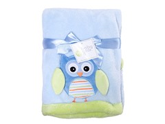 Blue Owl Blanket