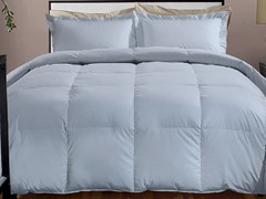 800TC Down Alternative Comforter-Smoke-3 Sizes