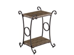SEI Animal Print Accent Table –  Leopard