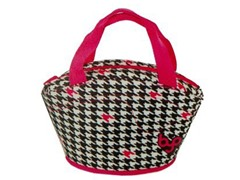 BuiltNY Gusto Lunch Bag-Houndstooth