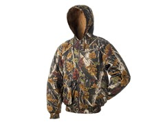 Reversible Insulated Camo Jacket w/ Hood