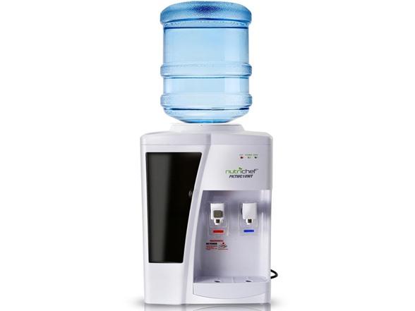 Nutrichef Countertop Water Cooler Dispenser HG106259A