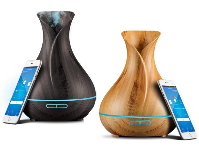 Sierra Modern Home Smart Wi-Fi Oil Diffuser