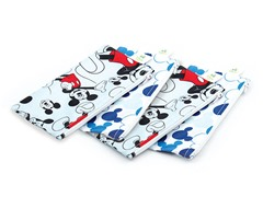 Mickey Mouse Small Snack Bag 4-Pk