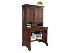 """36"""" Compact Computer Desk w/Hutch"""