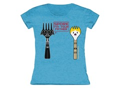 Girls Toddler Tee - Spork (4T)