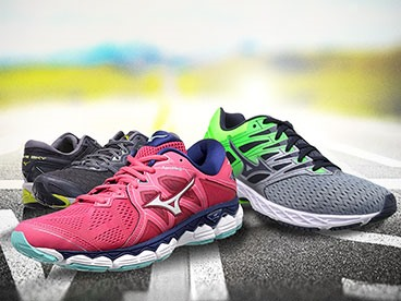 Mizuno Men's and Women's Running Shoes