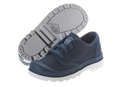 Palladium Pampa - Indigo (Kid 1 - 2.5)