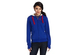 USPA Jrs Classic Fleece Jacket, Blue