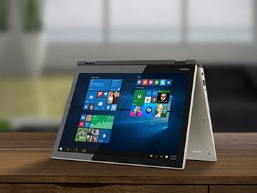 """Toshiba Satellite Fusion 15"""" Convertible Laptop"""