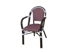 All-Weather Wicker Chair w/ Armrest, 2PK