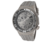 Men's Neptune Watch - Grey/Black