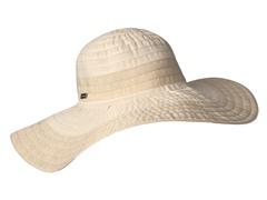 Oleander Wide Brim Sun Hat, Ivy/Gold