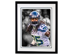Richard Sherman Signed Framed Photo