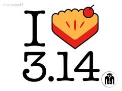I Heart Pi(e) Zip Hoodie