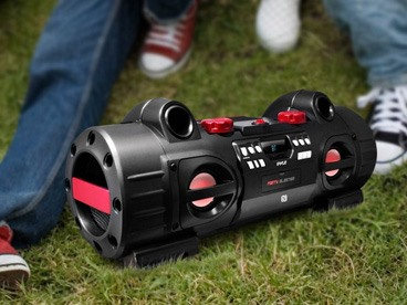 Portable Bluetooth Boombox Speakers