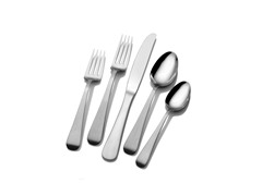 Mikasa 50pc Flatware Set-Satin Tanner