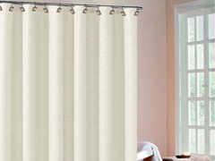 Heather Wave Fabric Shower Curtain-4 Colors