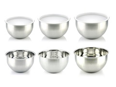 Kevin Dundon 6 Piece Bowl Set SS
