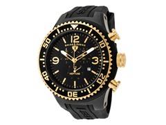 Men's Neptune Chronograph, Black / Gold