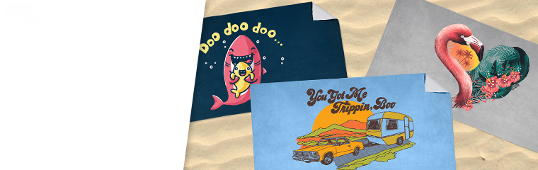 Beachy Keen for These Towels!