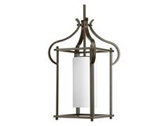 1-Light Hanging Lantern, Antique Bronze