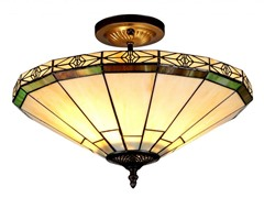 2-Light Flush, Antique Bronze