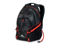 High Sierra Loop Backpack - Black Treads